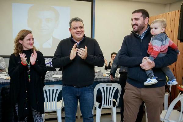 """Se presentó la agrupación """"Somos Sanfer"""" con apoyo a Randazzo y Aguilera"""