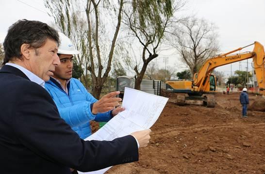 El intendente de San Isidro, Gustavo Posse, supervisó las obras del nuevo túnel en la calle La Calandria y las vías del Ferrocarril General Belgrano Norte, en Villa Adelina.