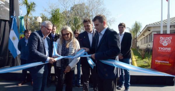 Zamora, Ritondo y Massa inauguraron las nuevas oficinas operativas de la Policía Local de Tigre