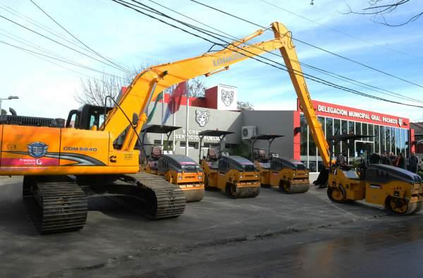 Tigre presentó nueva maquinaria para fortalecer sus servicios públicos