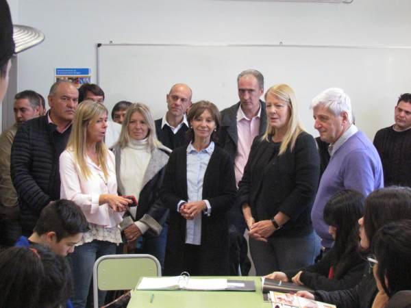 Andreotti recibió a Margarita Stolbizer en San Fernando