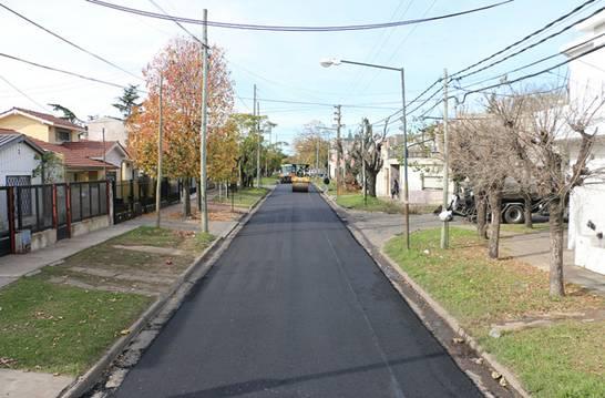 Boulogne tendrá 31 cuadras con pavimento nuevo