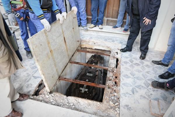 La Parroquia Aránzazu descubrió la lápida donde descansan los restos de Maximino Pérez