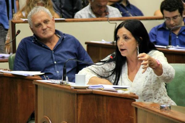 anifestó Marcela Durrieu, concejal y presidenta del bloque