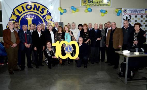 Los Leones celebraron su 100 aniversario en Villa Adelina