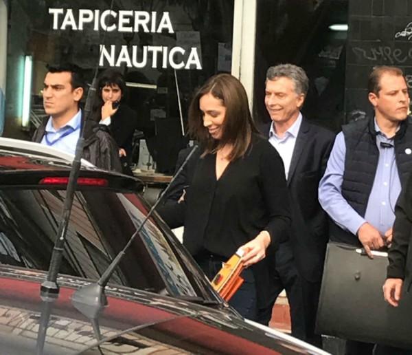 visita de Macri a Tigre