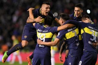 Boca goleó a Aldosivi en Mar del Plata y se encamina firme hacia el título