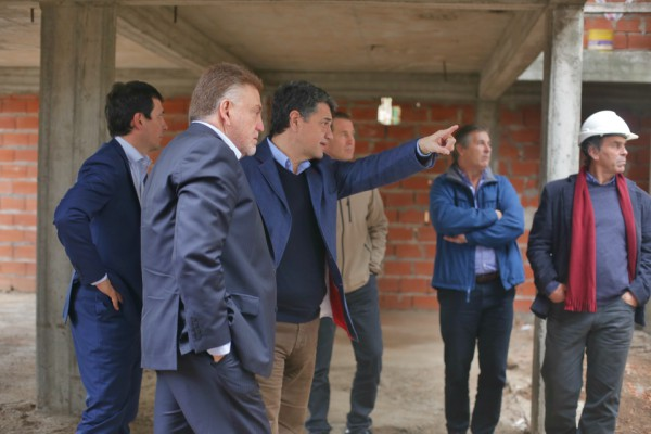 Jorge Macri presentó junto a funcionarios de Nación el Plan de Vivienda en Olivos