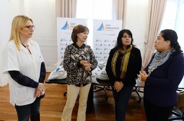 """San Fernando asiste a vecinos con """"Refuerzo Invernal"""""""