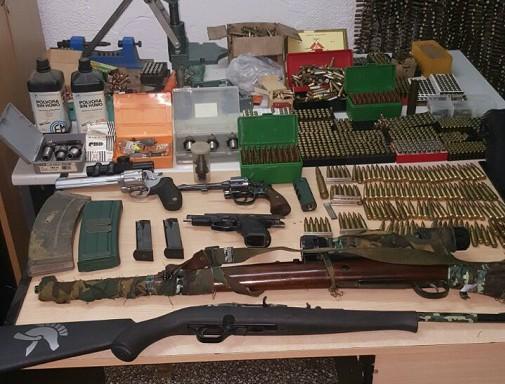 Detienen a un hombre en San Fernando que alquilaba armas y abastecía de municiones a delincuentes--