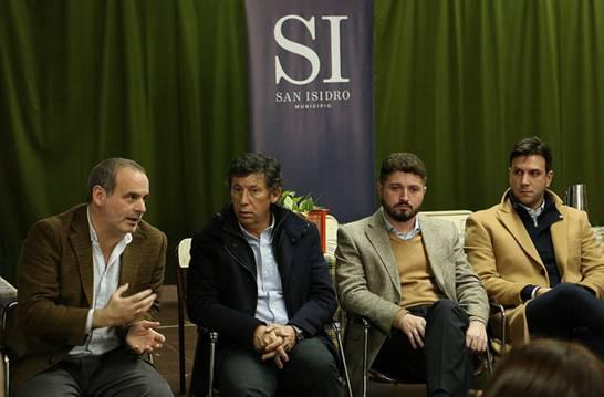 """Presentaron en San Isidro el programa """"Asistiré"""" contra el abandono escolar"""