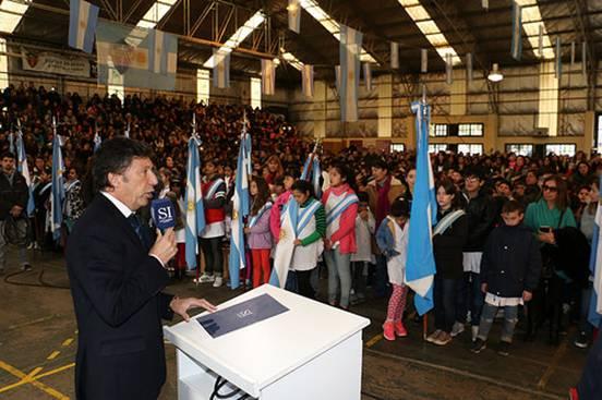 Más de 2 mil chicos prometieron lealtad a la bandera en San Isidro