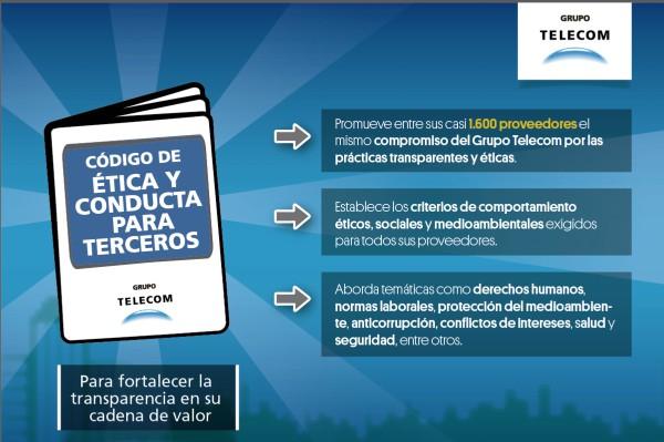 Grupo Telecom fortalece la transparencia en su cadena de valor