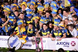 Boca festejó su título 66 con Bombonera completa - Télam