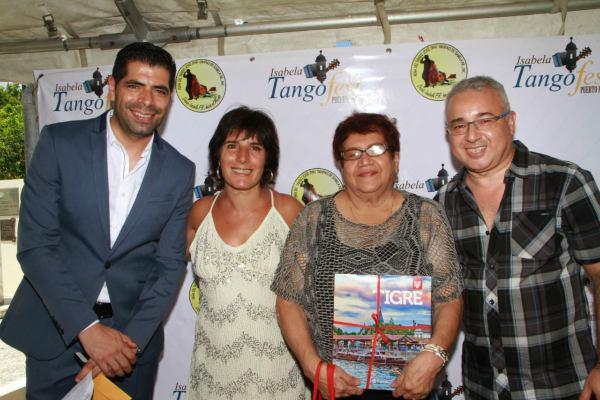 igre volvió a destacarse a nivel internacional, por sus valores artísticos; en esta oportunidad a través de la Subsecretaría de Cultura, la intérprete Mirta Uguet y el cantante Pablo Achával, oriundos de Benavídez