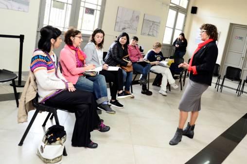 Comenzó en el HCD de San Isidro la capacitación para líderes barriales y coordinadores de equipo