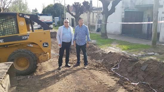 Comenzó el plan de pavimentación en más de 30 cuadras de Boulogne
