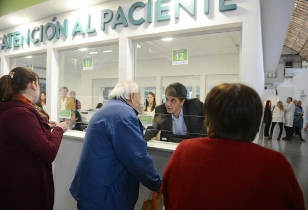 Jorge Macri presentó el nuevo sistema de turnos del Hospital Houssay