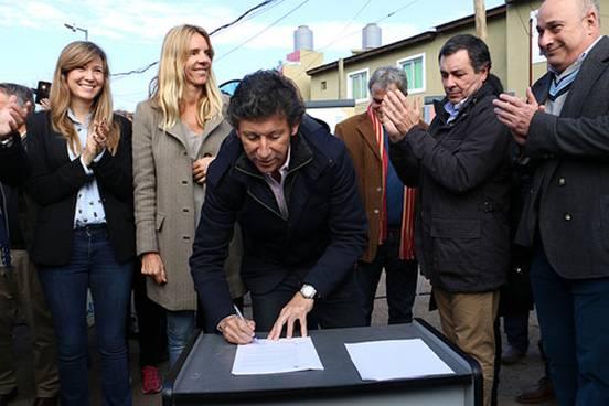 Convenio entre el Municipio y Nación para el mejoramiento del hábitat en el barrio bajo San Isidro
