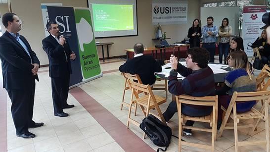 En San Isidro se realizó la primera edición de los clubes de innovación