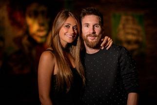 Leonel Messi y Antonela Roccuzzo ya son formalmente marido y mujer