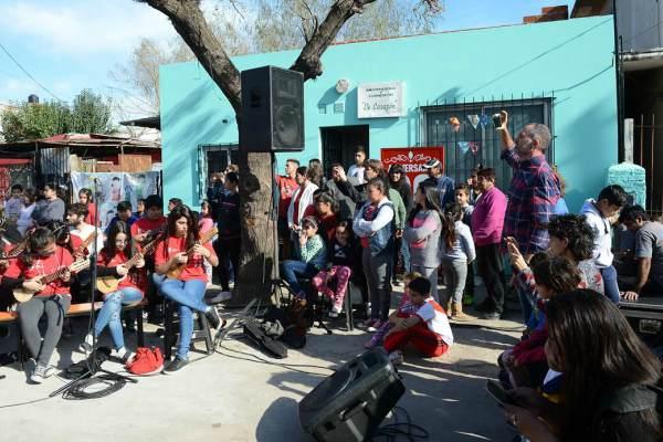 El Merendero de Corazón festejó sus 15 años de labor social en Don Torcuato
