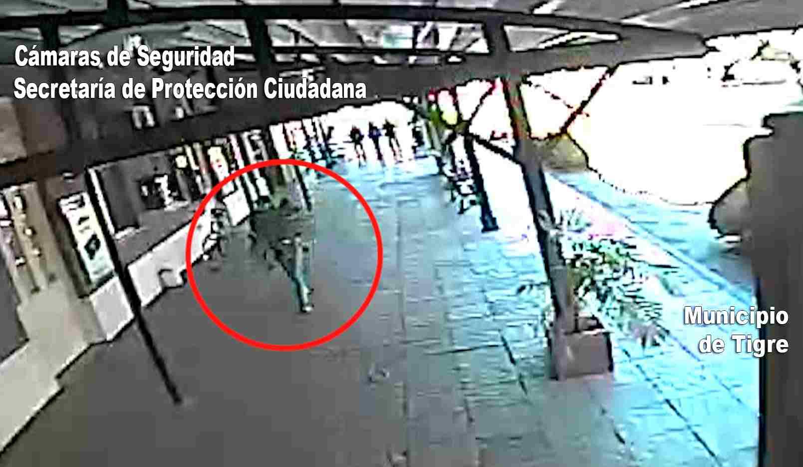 El Municipio de Tigre difundió las Imágenes del embarco de Georgina Díaz y su hijo hacia el Delta