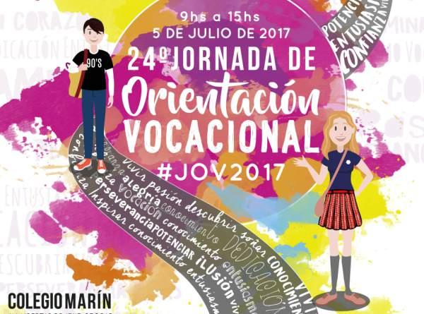 Se realizará en el colegio Marín la jornada de orientación vocacional 2017
