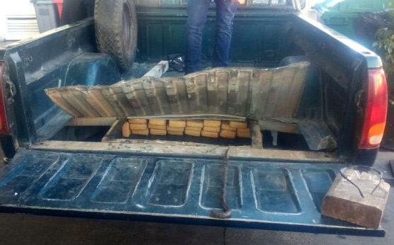 Secuestraron 160 kilos de marihuana en la Panamericana a la altura de Tigre