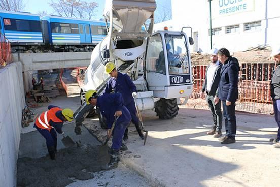 En agosto se termina la obra del túnel de España en San Isidro