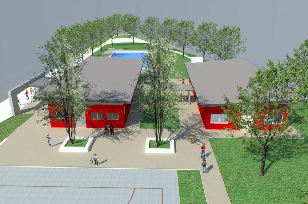 Tigre ya construye su polideportivo municipal número 18
