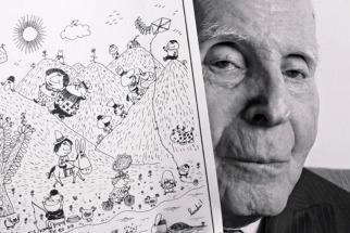 El mundo de la ilustración de luto por la muerte de Landrú