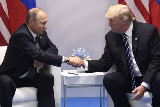 Trump y Putin se reunieron por primera vez en el marco de la cumbre del G20 en Hamburgo