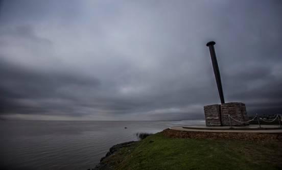 San Isidro inauguró una nueva escultura en la costa de Martínez
