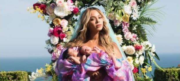 Beyoncé presenta a sus gemelos Sir Carter y Rumi