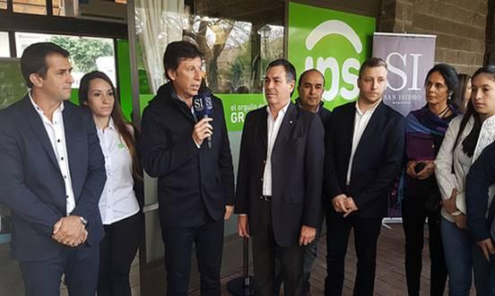 Posse y Gribaudo inauguraron un centro de atención previsional en San Isidro