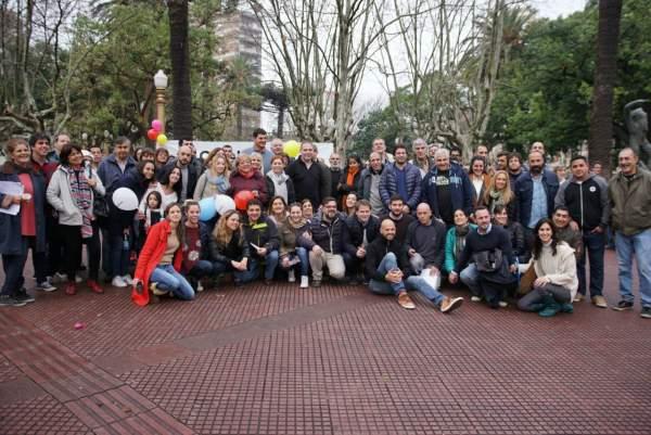 Timbreo de Cambiemos en San Fernando junto con Guillermo Dietrich