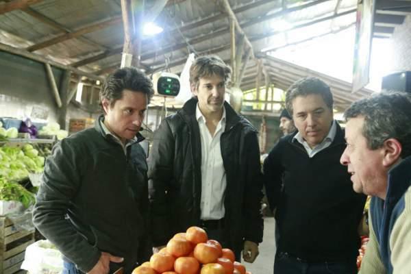 En el arranque de campaña, Cernadas, Dujovne y Sanchez Zinny encabezaron el timbreo en Tigre