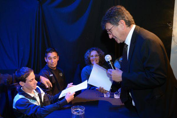 Deportistas paralímpicos de Tigre fueron distinguidos por el Ateneo del Encuentro