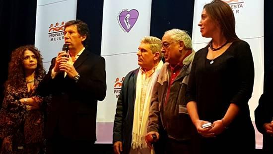 """Vidal y Posse, en la cena a beneficio de la asociación """"Madres del Dolor"""""""