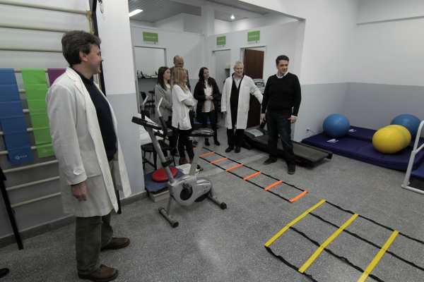 Jorge Macri presentó los renovados servicios de Kinesiología y Adolescencia del Hospital Houssay