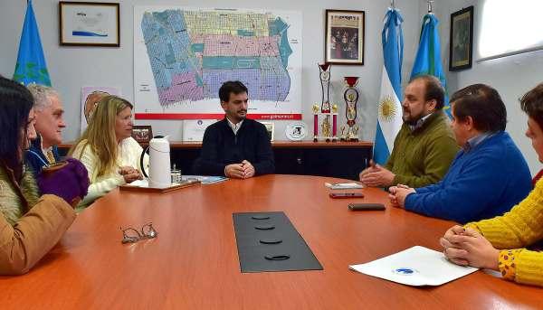 El Senador Provincial Sebastián Galmarini se reunió con Luis Vassallo,  Presidente de la Fundación Primeros Pasos Delfina Vassallo