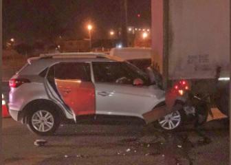 El periodista deportivo Juan Pablo Varsky chocó contra un camión en Panamericana y lo salvó el airbag