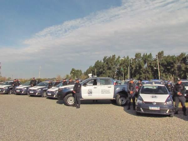 San Isidro sumó 25 nuevos móviles al patrullaje municipal