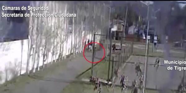 Ladrón de motocicleta detenido en Tigre gracias al sistema B.U.S.C.A.D.O.R