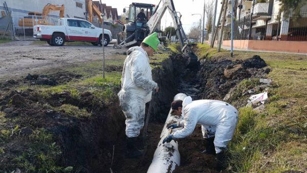 Realizan obras hidráulicas en Tigre para evitar anegamientos