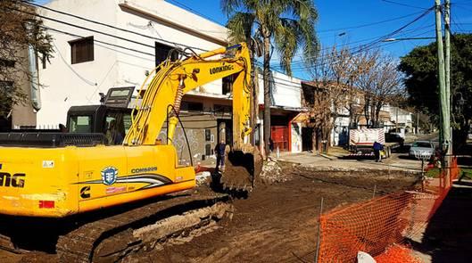 En Beccar comenzó la renovación de Juan B. Justo