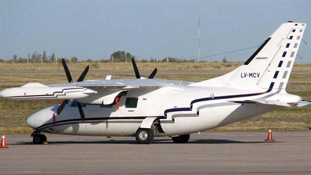Encontraron el avión desaparecido, sumergido en una isla del Delta del Paraná