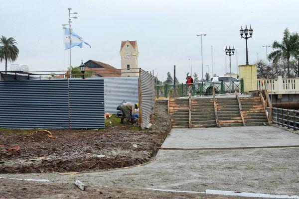 Tigre amplía la circulación peatonal en el Puente Sacriste