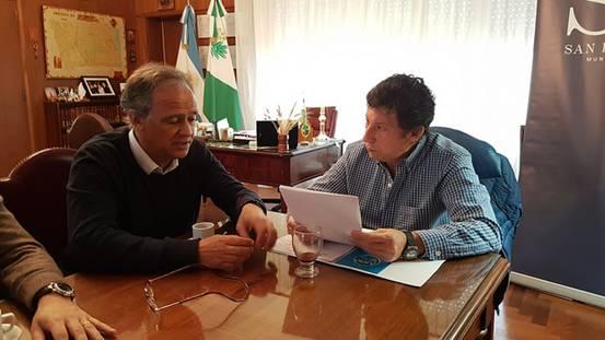 El intendente de Gustavo Posse se reunió con Mauricio Devoto, secretario de Planificación Estratégica del Ministerio de Justicia y Derechos Humanos de la Nación, para conocer esta iniciativa que tiene como objetivo acercar la justicia a la población.
